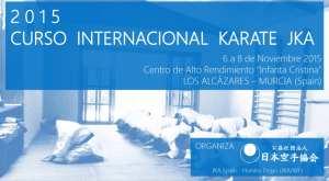 Curso Internacional Karate JKA 2015